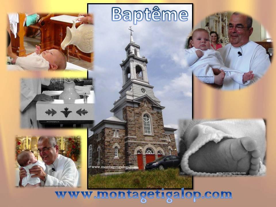 Montage Tigalop Baptême